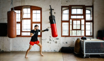 punching-bag-outside