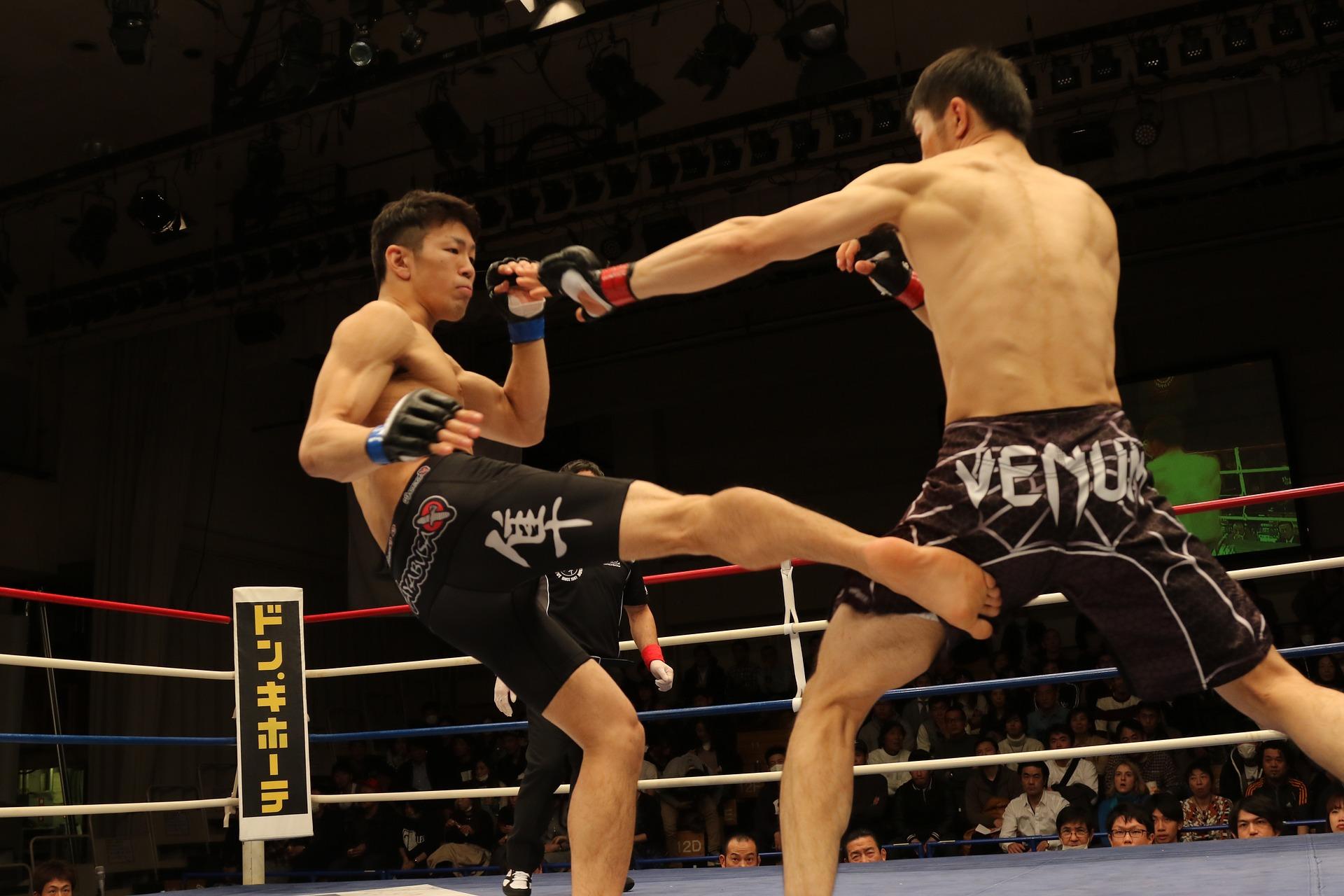 Striking in MMA