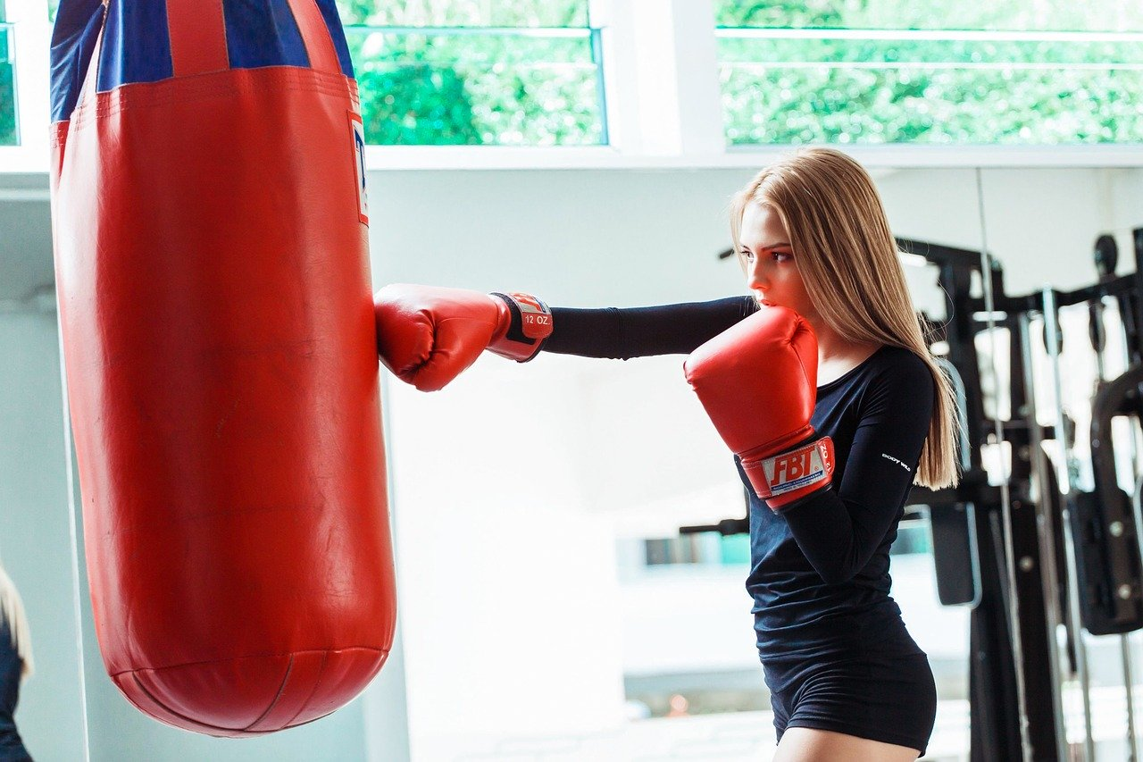 Punching Bag Workouts for Women